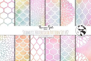 Seamless Watercolor Patterns #2 PR