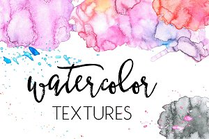Watercolor Textures Vol. 1