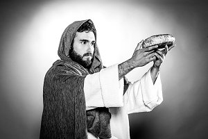Consecration of bread