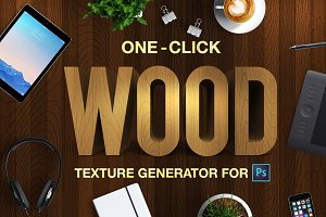 Wood Texture Generator - One Click