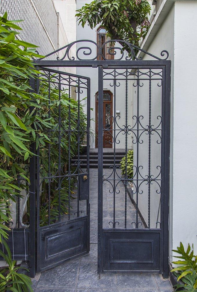 Elegant colonial house entrance architecture photos creative market - Elegant colonial architectural designs ...