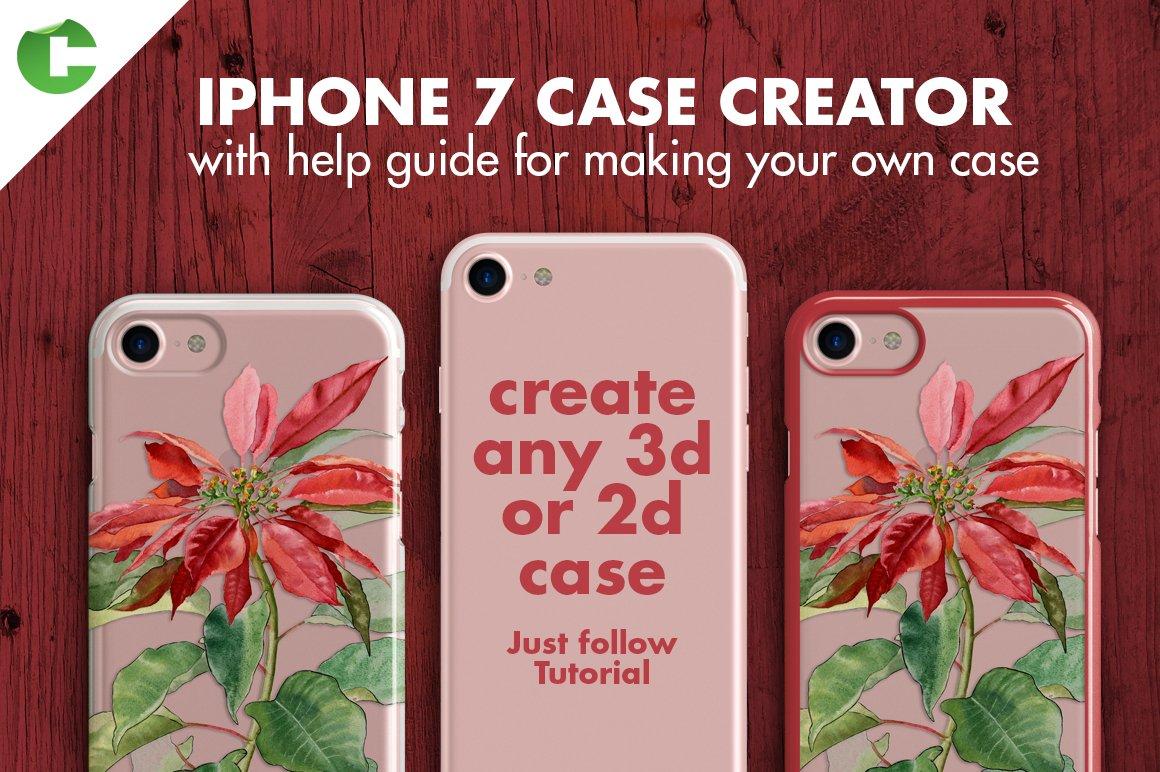Iphone 7 Case Creator Product Mockups Creative Market