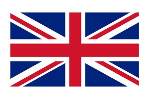 United Kingdom, England Flag Vector