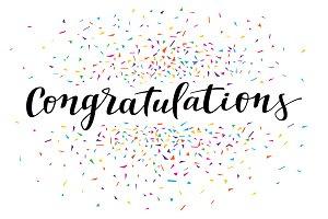 Confetti Congratulations