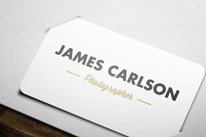 Gold Rush Business Card