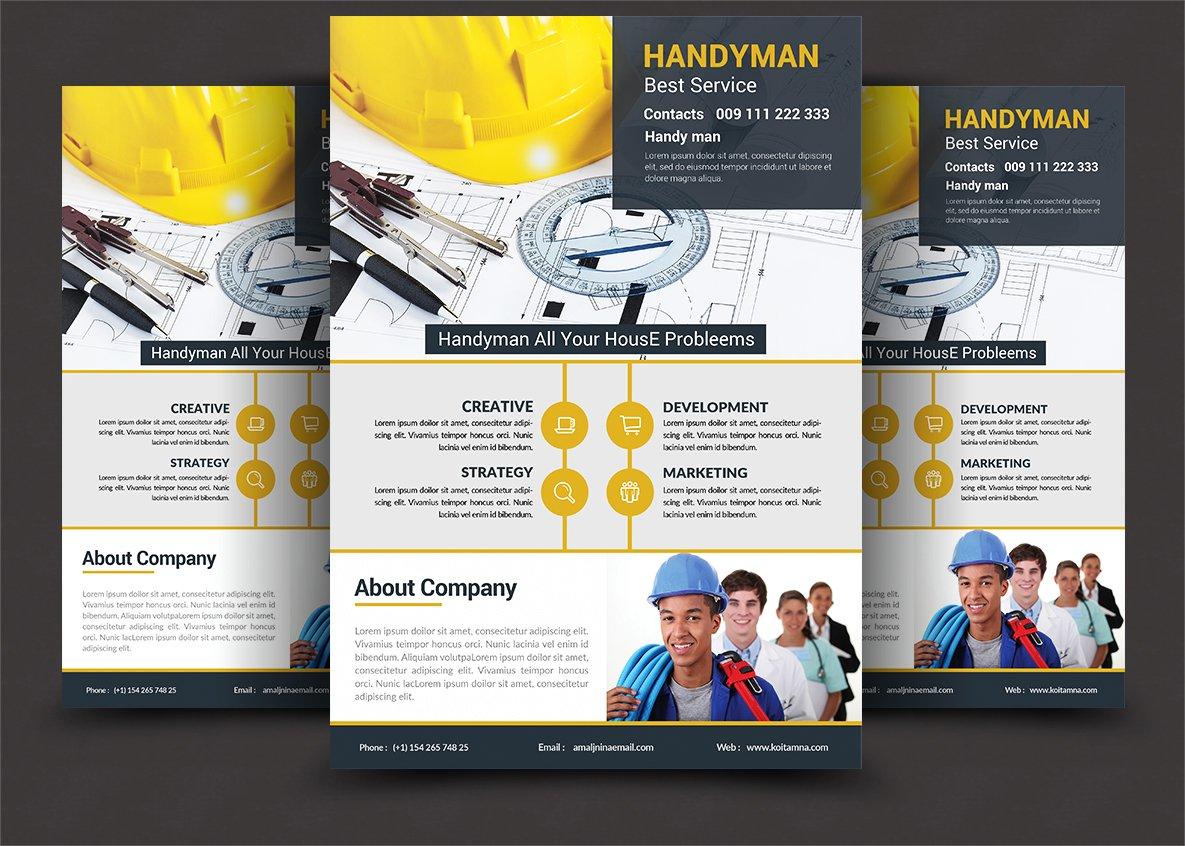 plumbing service flyer photos graphics fonts themes templates plumber service flyer