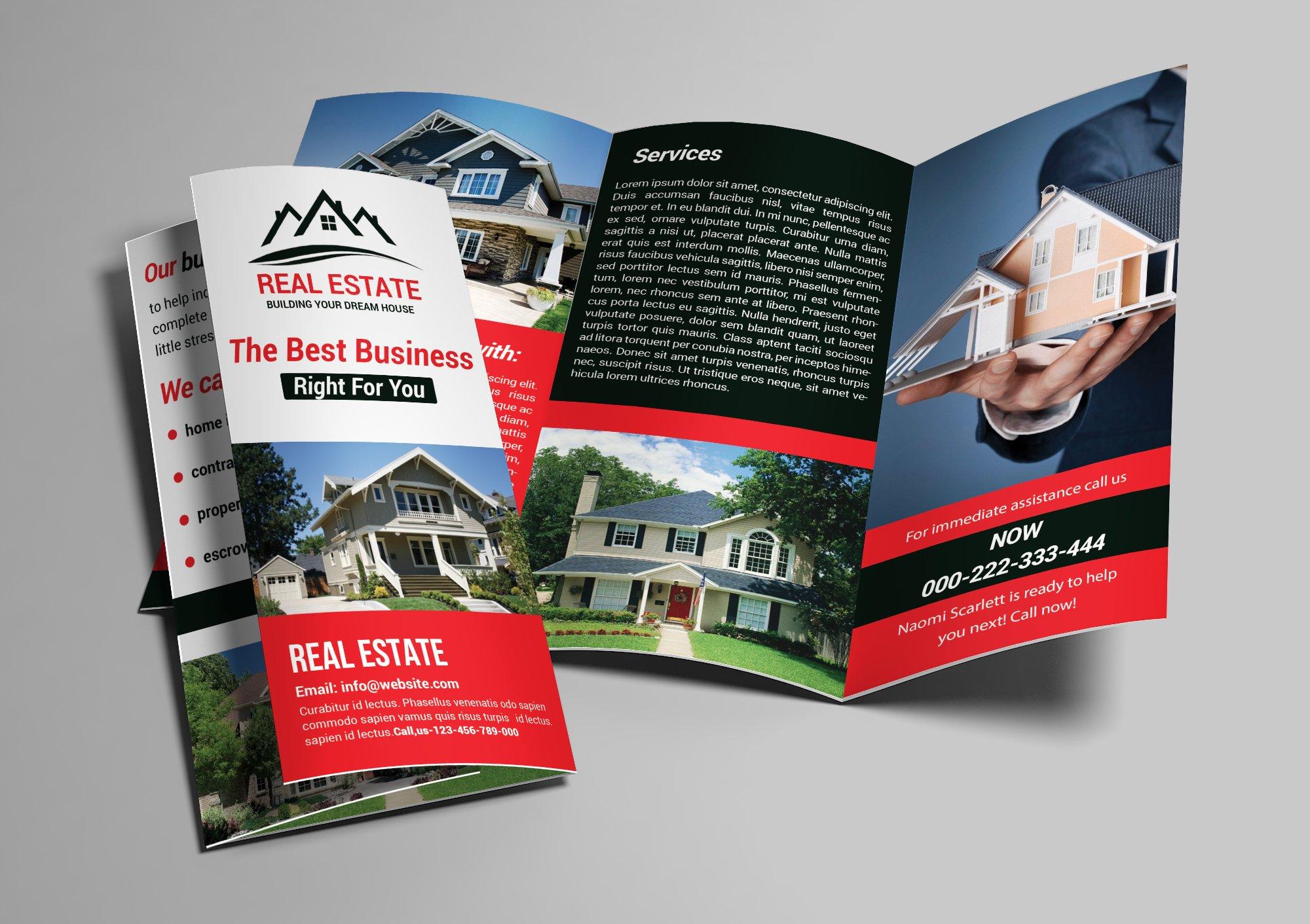 real estate tri fold brochure template.html