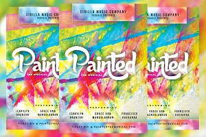 Painted Musical Flyer