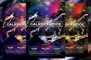 Galaxy Xplode Flyer