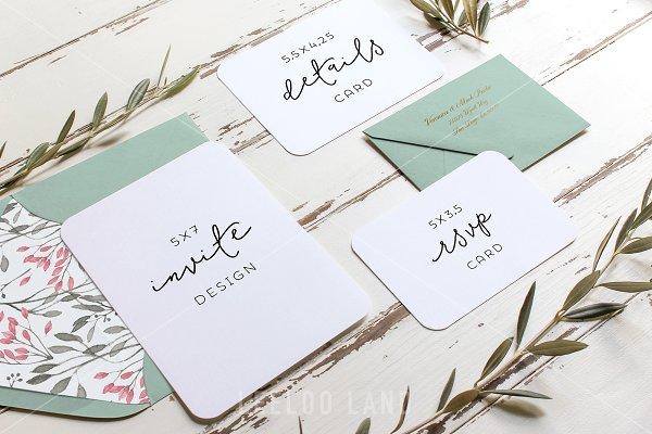 Rustic Wedding Suite Mockup Olive 3