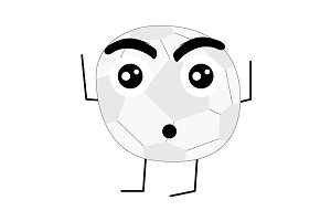 Cute Football Ball