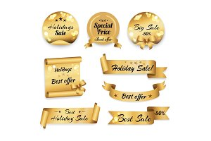 Holidays Big Best Sale and Special Prices Banner