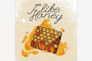 Beehive & Honey
