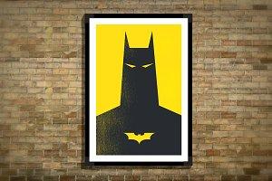 Batman Minimal Poster