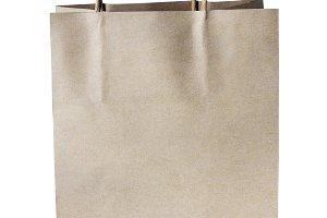 Paper brown shopping bag