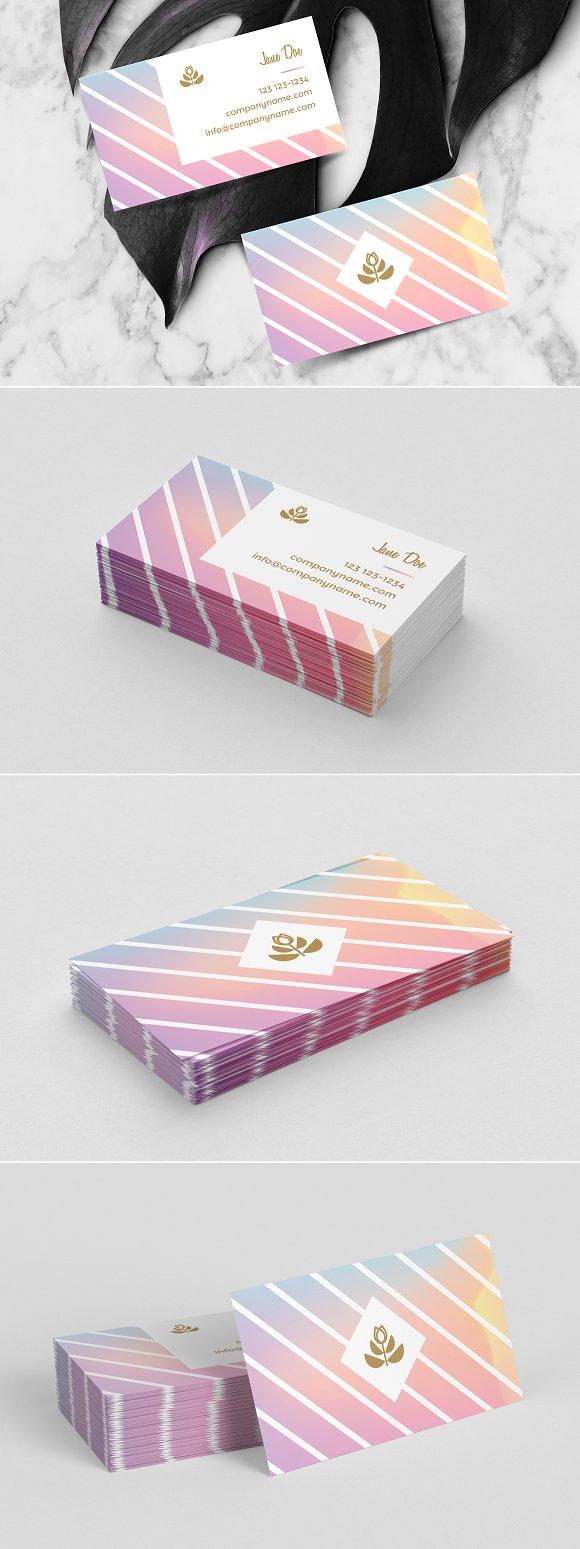 Feminine business card template business card templates feminine business card template business cards magicingreecefo Images
