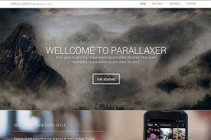Parallaxer Bootstrap responsive