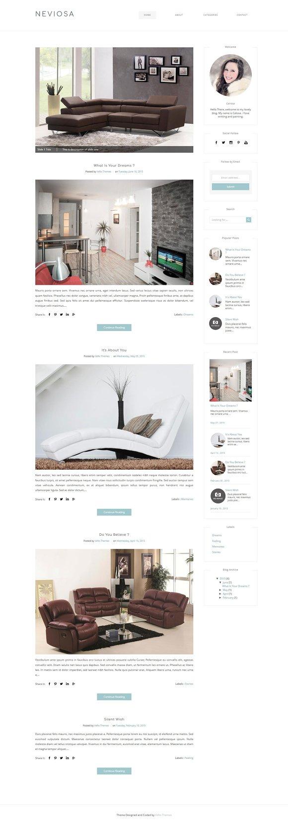 Blogger Template NEVIOSA