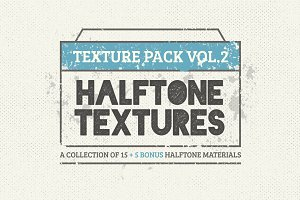 15 Halftone Textures + 5 Bonus