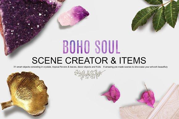 BOHO SOUL scene creator & items
