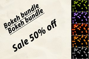 Bokeh bundle: 50% off sale