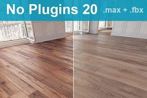 Parquet Floor 20 WITHOUT PLUGINS