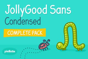 JollyGood Sans Condensed Complete