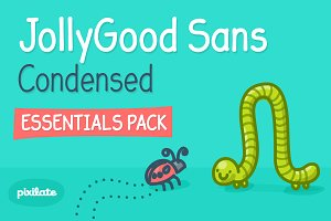 JollyGood Sans Condensed Basic Pack