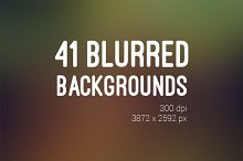 41 Blurred Backrounds