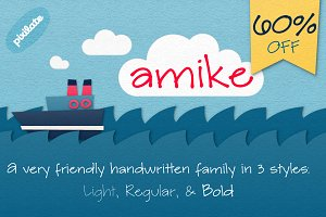 Amike Handwriting Font
