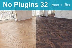 Parquet Floor 32 WITHOUT PLUGINS