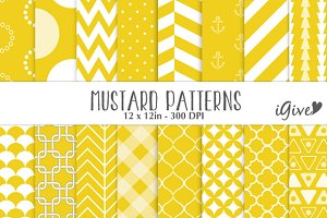 Mustard Yellow Patterns