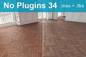 Parquet Floor 34 WITHOUT PLUGINS