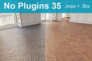 Parquet Floor 35 WITHOUT PLUGINS