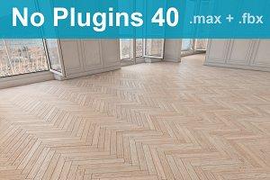Parquet Floor 40 WITHOUT PLUGINS
