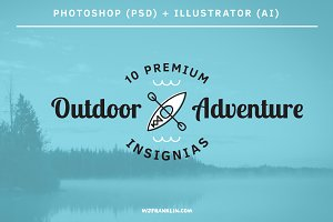 10 Outdoor Adventure Insignias