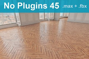 Parquet Floor 45 WITHOUT PLUGINS