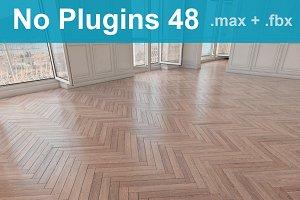 Parquet Floor 48 WITHOUT PLUGINS