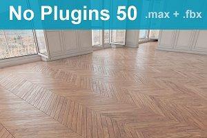 Parquet Floor 50 WITHOUT PLUGINS