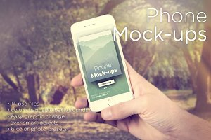 iPhone Mock-ups - No-stock edition