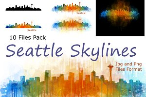 10xFiles Pack Seattle Skylines