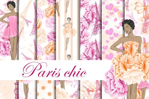 Paris chic patterns