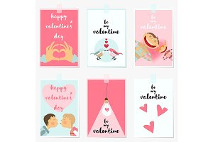 Valentines Day Greeting Cards.