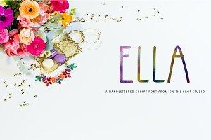 Ella Hand Drawn Font