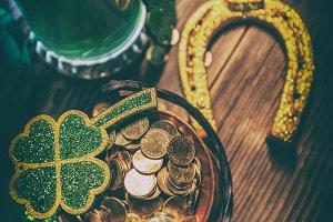 Saint Patrick's Day concept