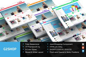 SJ G2Shop - Multipurpose Template