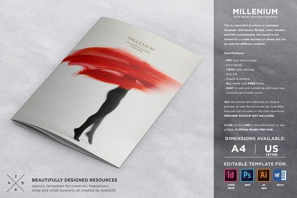Fashion Cataloguebrochure Template Brochure Templates Creative