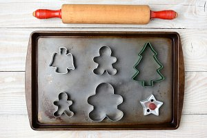 Rolling Pin Cookie Cutters