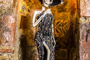 Mexican Sculptures Day of the Dead