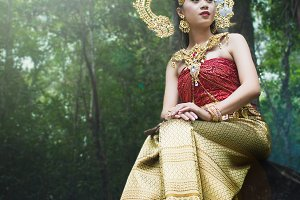 Traditional Thai Dress